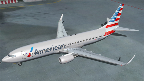 Flight1 File Library System 187 Fsx Ifly 737 800 American