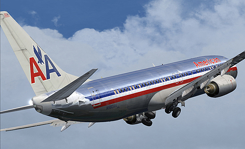 Flight1 File Library System 187 American Airlines B737 800