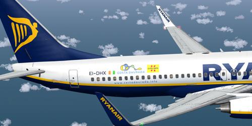 Ryanair boeing 737-800, reg ei-dap for fsx.