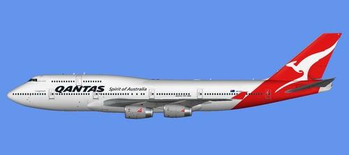 Flight1 File Library System » FSX iFly 747-400 SP1 – Qantas
