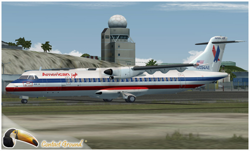 Flight1 File Library System » American Eagle Airlines