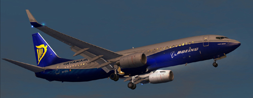 Flight1 File Library System » FSX Ryanair ei-dcl new livery