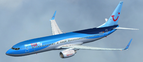 Flight1 File Library System » FSX TUIfly B737-800 New blue
