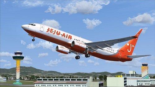 Flight1 File Library System » FSX iFly 737-800 Jeju Air HL8214 V1 1