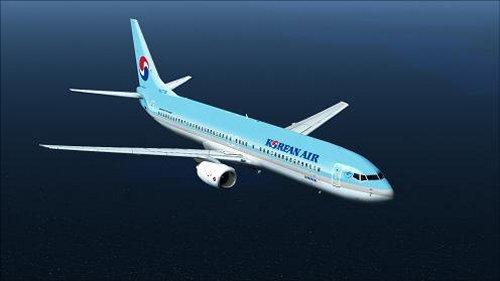 Flight1 File Library System » FSX B737-900 Korean Air livery