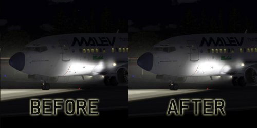 Flight1 File Library System » FS9 Redefined fuselage landing