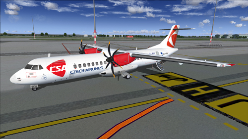 Flight1 File Library System » Flight1 ATR 72-500 Czech Airlines
