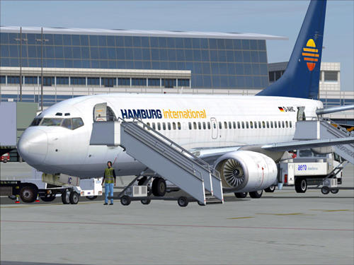 737-700 Hamburg International