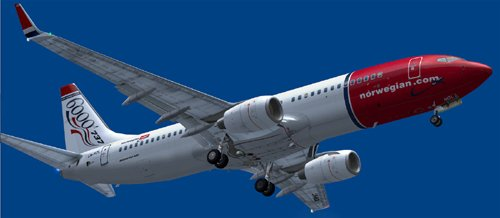 Norwegian Air Shuttle LN-NOL