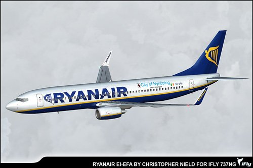 Ryanair EI-EFA \'City of Nykoping\'