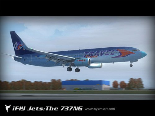 B 737-800 Travel Service