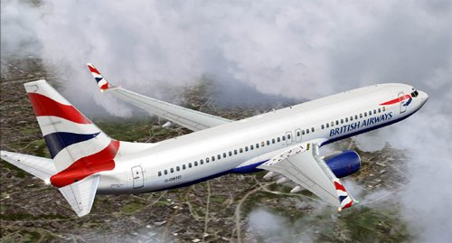 British Airways B737-800 