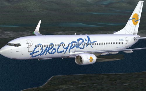 Eurocypria Airlines 737-800 5B-DBX