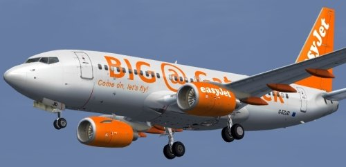  G-EZJD 737-73V of Easyjet
