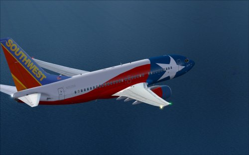  Southwest 737-700 Lone Star One