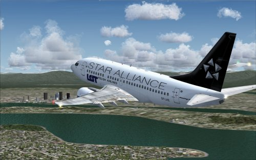 LOT Star Alliance 737-600