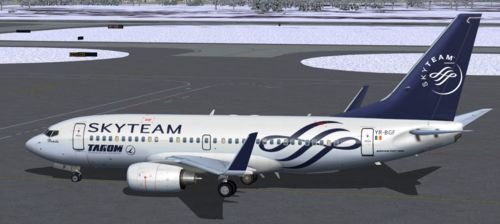 Tarom Boeing 737-700 YR-BGF SkyTEAM