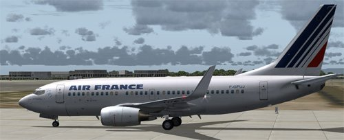 Air France OC 737-700 Fictional Repaint