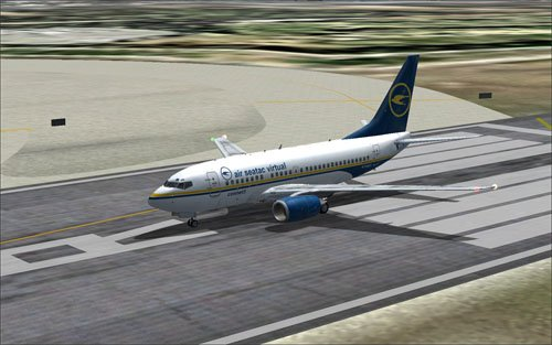 Fictional Air SeaTac Virtual 737-600