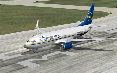 Fictional Air SeaTac Virtual 737-700