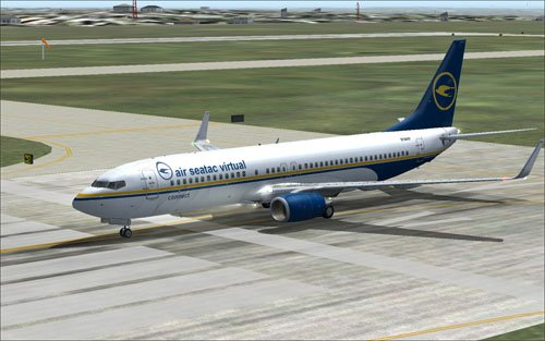 Fictional Air SeaTac Virtual 737-800