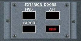 FS9 and FSX All in one Door Gauge