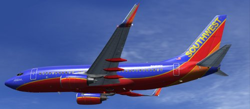 FSX Southwest Airlines B700 