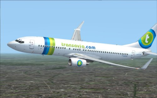 FS9 Transavia.com France B738 F-GZHV