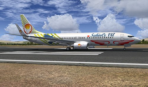 FSX iFly B738 SahinCe Virtual Airlines