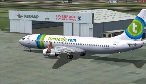 FS9 Transavia leased from GOL