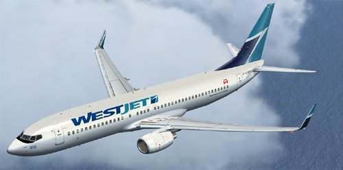 FSX Westjet B800
