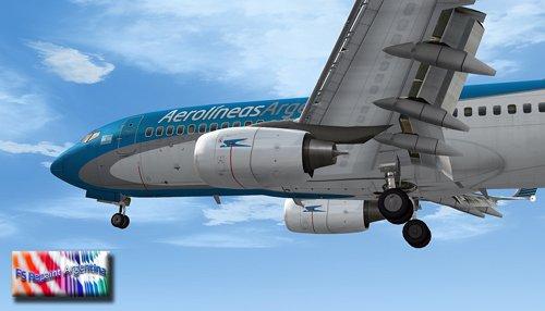 FS9 737-700 Aerolineas Argentinas LV-CMK