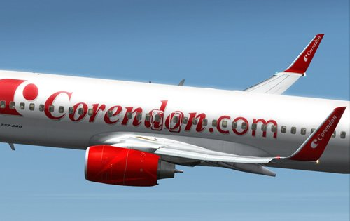 FS9 Corendon Airlines for the B 737-800