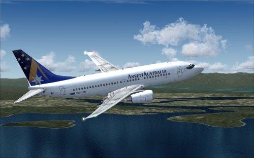 FS9 Ansett Australia 737-700
