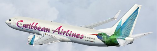 FS9 Caribbean Airlines 738