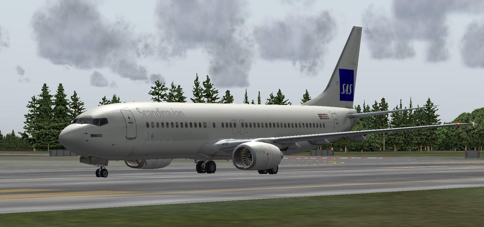 FS9 B737 LN-RPO SAS