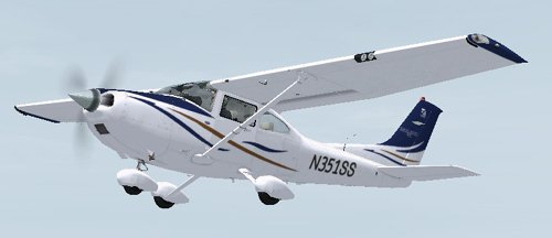 FSX Cessna 182T N351SS