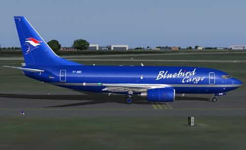 Boeing 737-7Y0(F) Bluebird Cargo