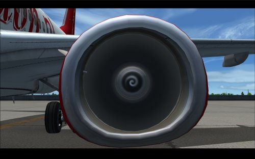 FS9 Fully new engine fan textures