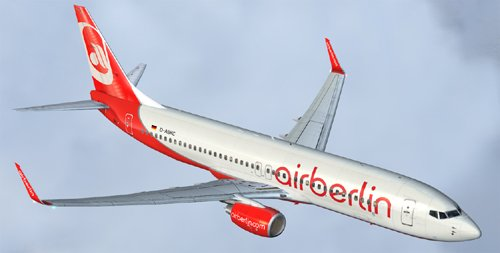 FS9 Air Berlin B800 D-ABKC