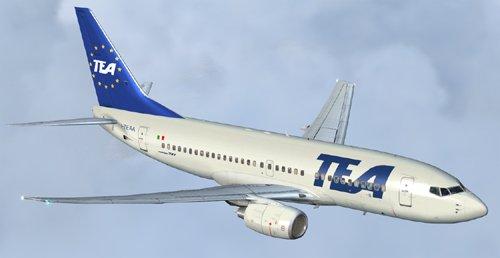 FS9 TEA Boeing 700