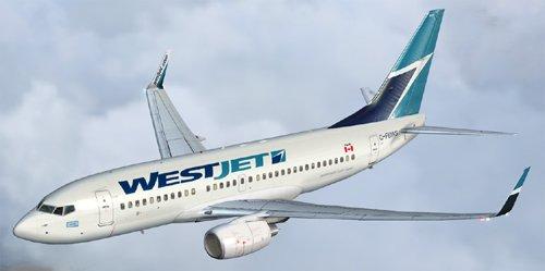 FS9 Westjet B700