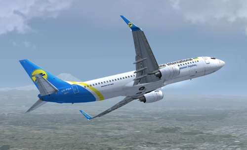 FSX iFly 737-800 Ukraine International Airlines UR-PSA