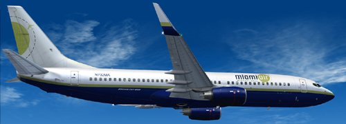 FS9 Miami Air B800