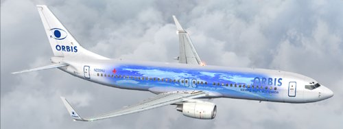 FSX Orbis B800 Worldflight Livery 