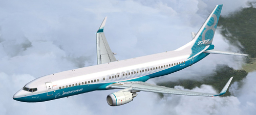 FSX B738 MAX 