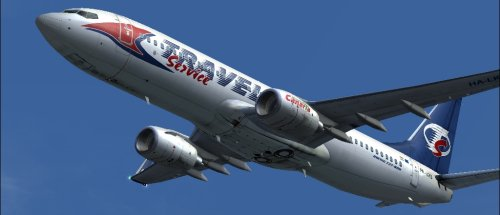 FS9 B737-800 Travel Service HA-LKB 