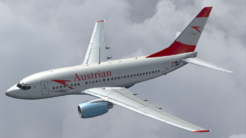 FS9 Austrian Airlines B600