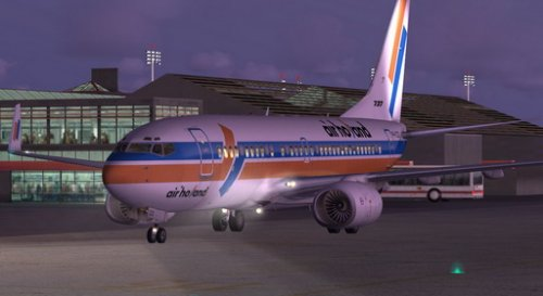 FSX Air Holland Boeing 737-700 Winglets