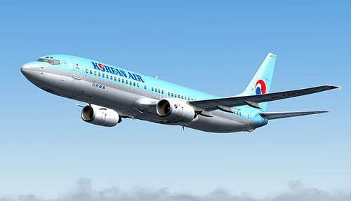 FS9 Korean Air 737-800 HL7557